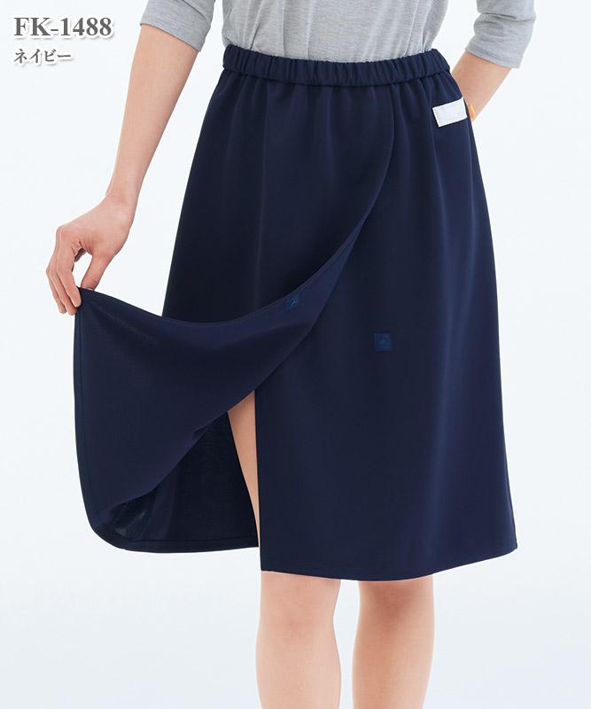 女子検診スカート[ナガイレーベン製品] FK-1488