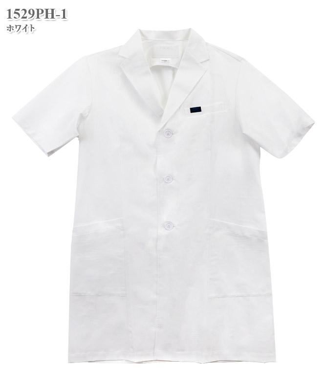 男子シングルコート半袖[フォーク製品] 1529PH-1