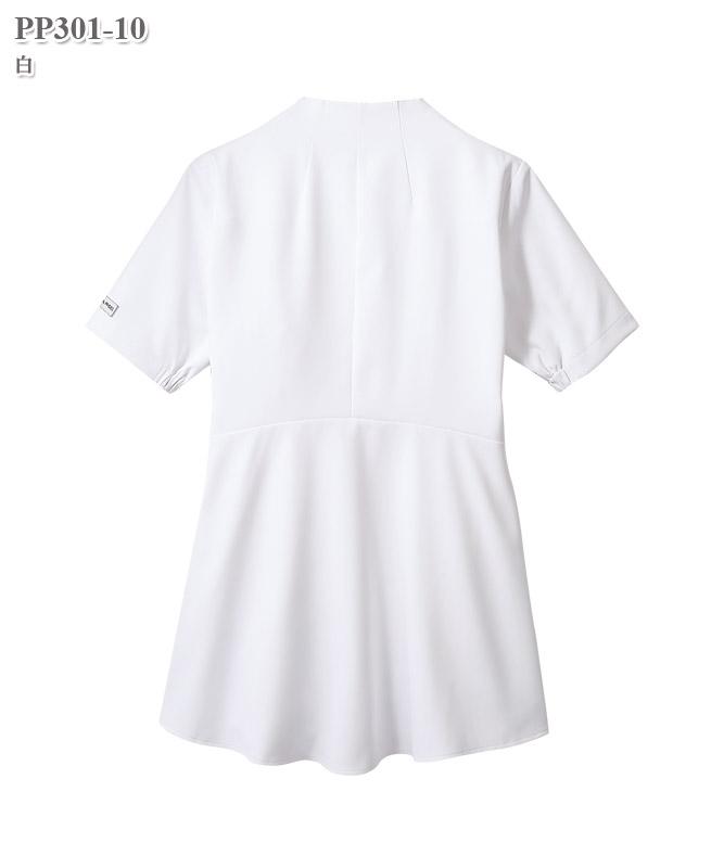 レディスナースジャケット半袖[住商モンブラン製品] PP301