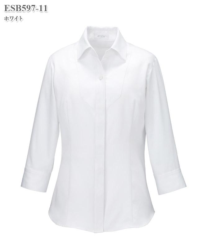 ブラウス七分袖[女性用][カーシーカシマ製品] ESB597
