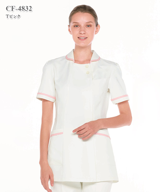 クレールローベ女子上衣半袖[ナガイレーベン製品] CF-4832