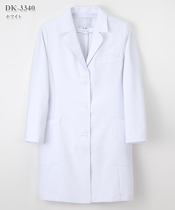 ドクタートップ女子ドクターコート長袖[ナガイレーベン製品] DK-3340