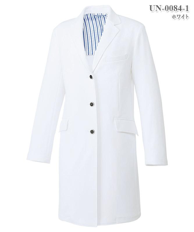 レディスドクターコート長袖[チトセ製品] UN-0084