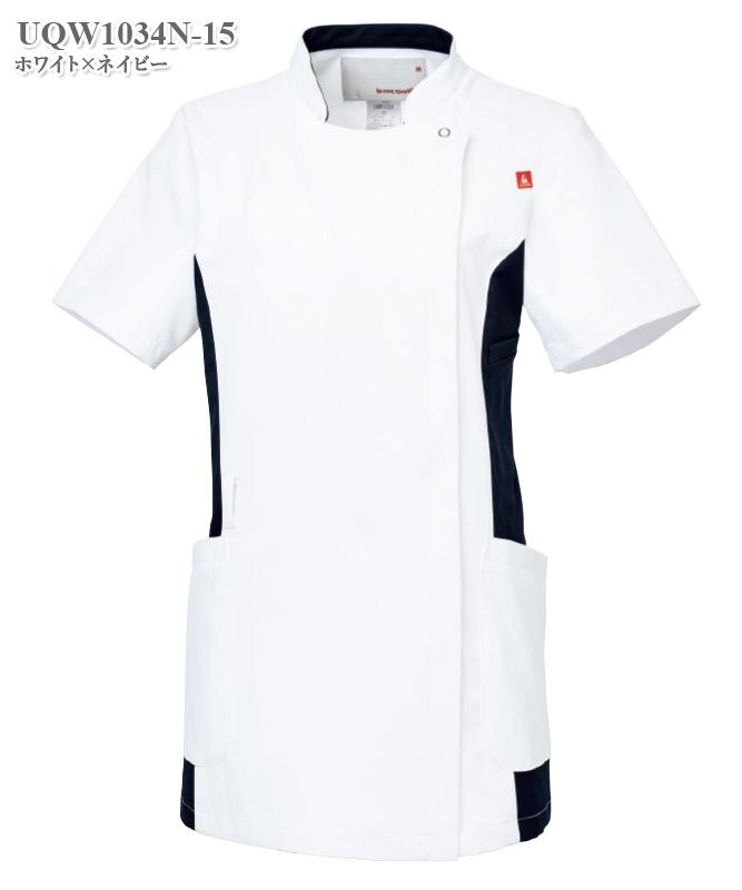 ルコックスポルティフレディスバイカラージャケット半袖[lecoq製品] UQW1034N