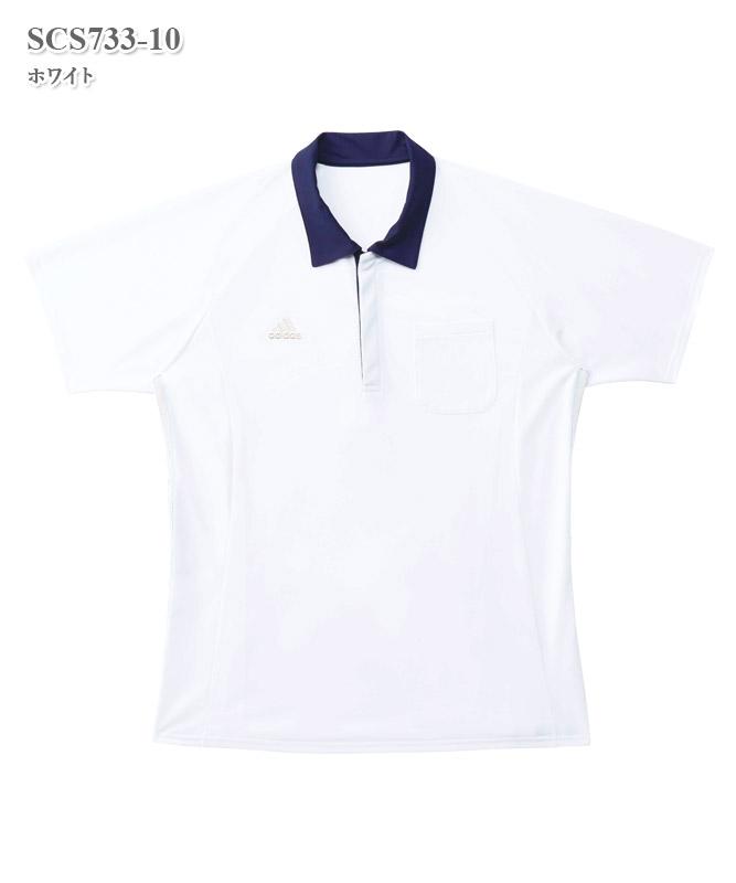 アディダス男女兼用ポロシャツ半袖[KAZEN製品] SCS733