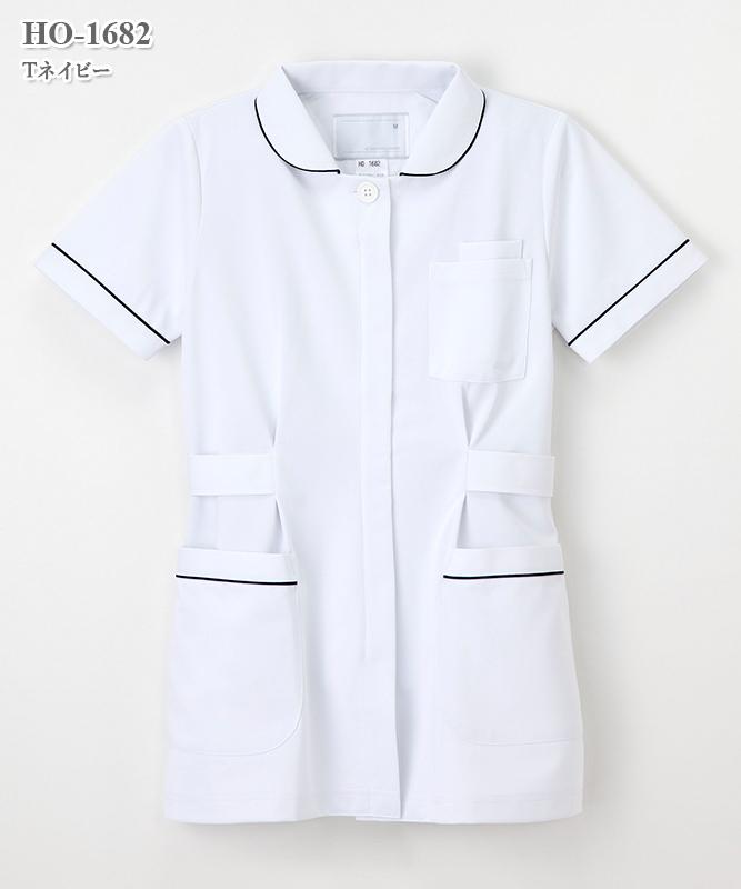 女子上衣半袖[ナガイレーベン製品] HO-1682