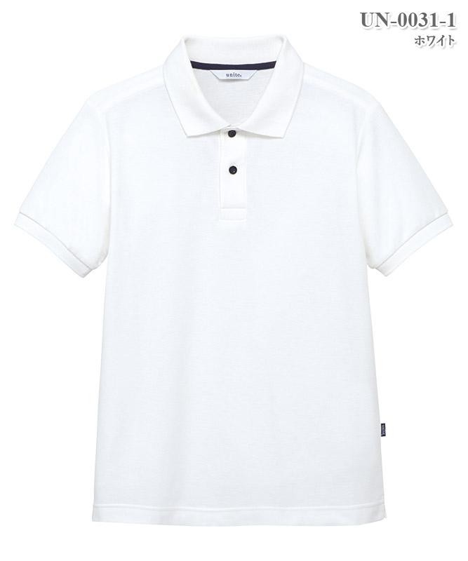 男女兼用ポロシャツ半袖[チトセ製品] UN-0031