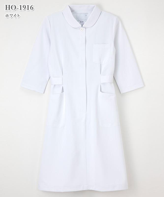 ホスパースタット女子ワンピース七分袖[ナガイレーベン製品] HO-1916