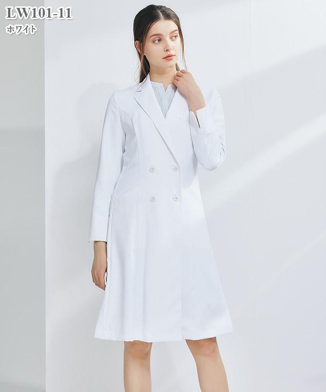 ローラ アシュレイ レディスドクターコート長袖[住商モンブラン製品] LW101