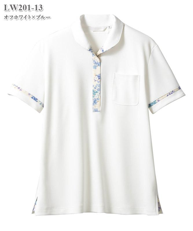 ローラ アシュレイ レディスニットシャツ半袖[住商モンブラン製品] LW201