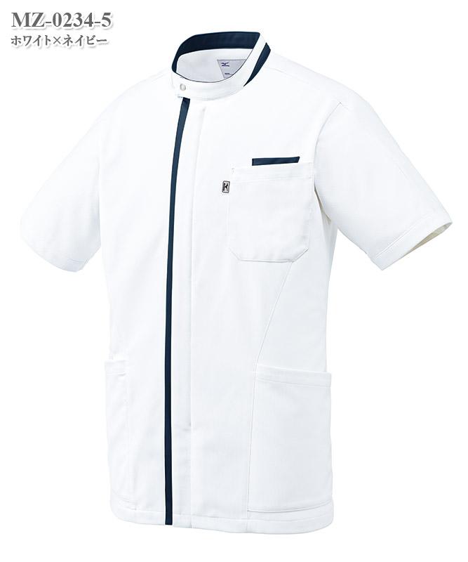ミズノ男子ケーシージャケット半袖[チトセ製品] MZ-0234