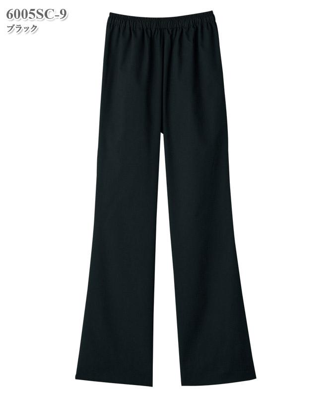 女子ブーツカットパンツ[フォーク製品] 6005SC