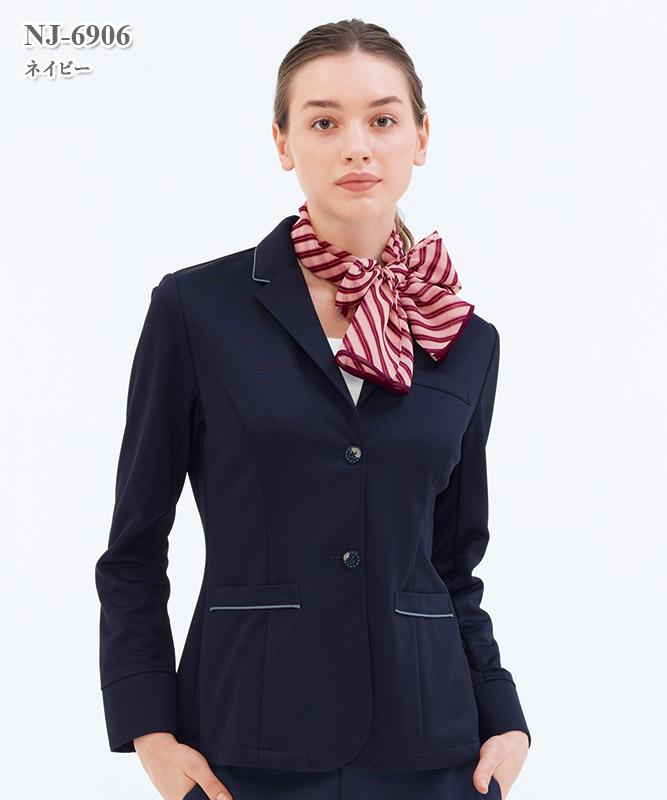 女子テーラードジャケット長袖[ナガイレーベン製品] NJ-6906