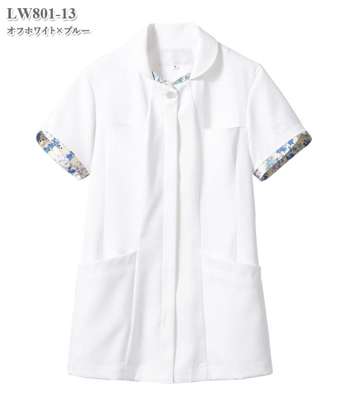 ローラ アシュレイ ナースジャケット半袖[住商モンブラン製品] LW801