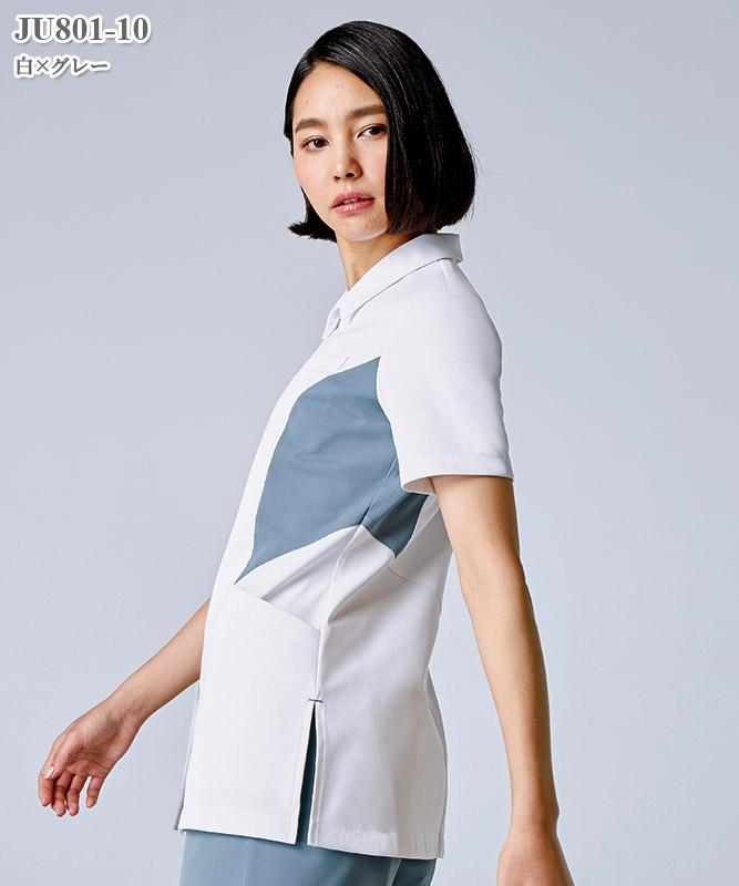 JUNKO uni(ジュンコ ユニ)レディスジャケット半袖[住商モンブラン製品] JU801
