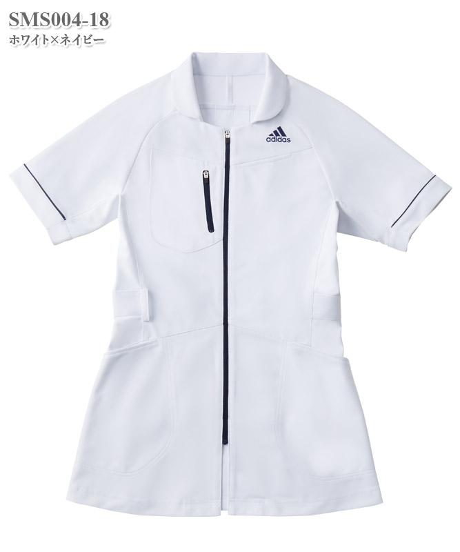 アディダスレディスジャケット半袖[KAZEN製品] SMS004