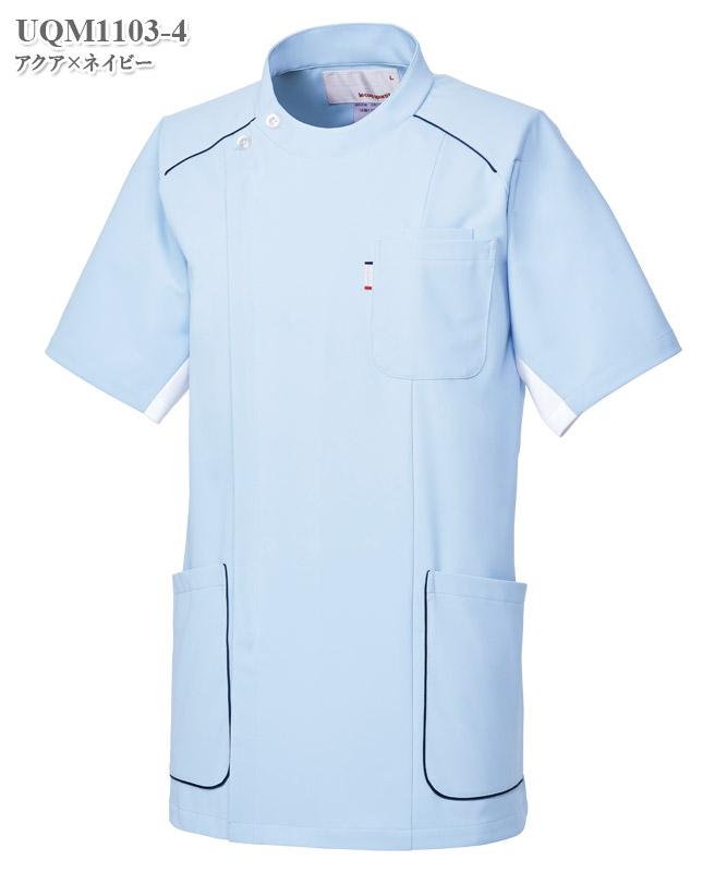 ルコックスポルティフメンズジャケット半袖[lecoq製品] UQM1103