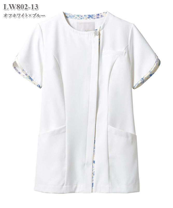 ローラ アシュレイ ナースジャケット半袖[住商モンブラン製品] LW802