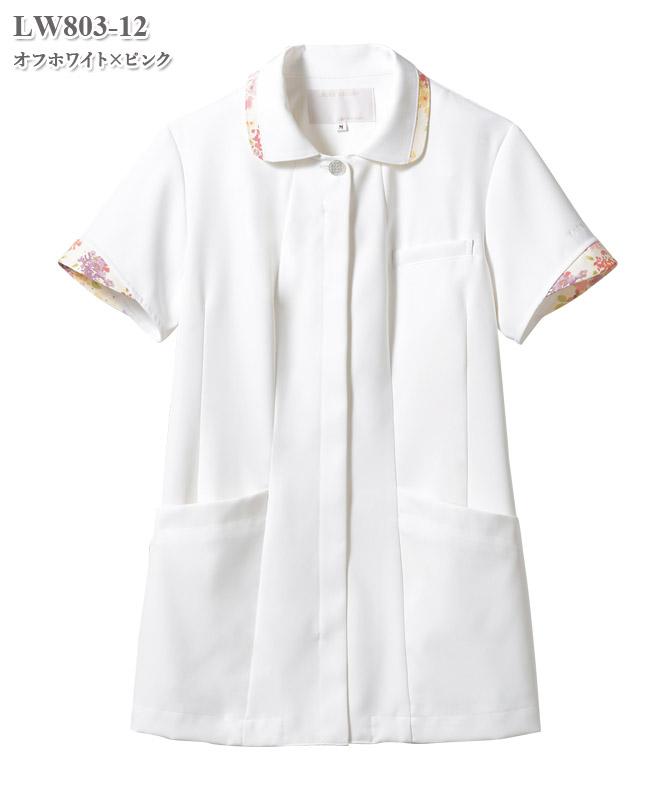ローラ アシュレイ ナースジャケット半袖[住商モンブラン製品] LW803
