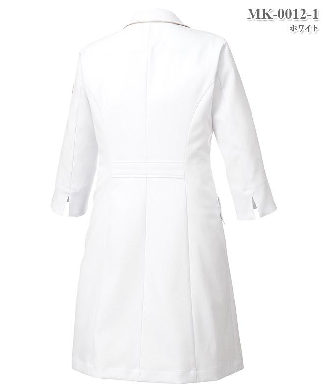 ミッシェルクラン女子ドクターコート七分袖[チトセ製品] MK-0012