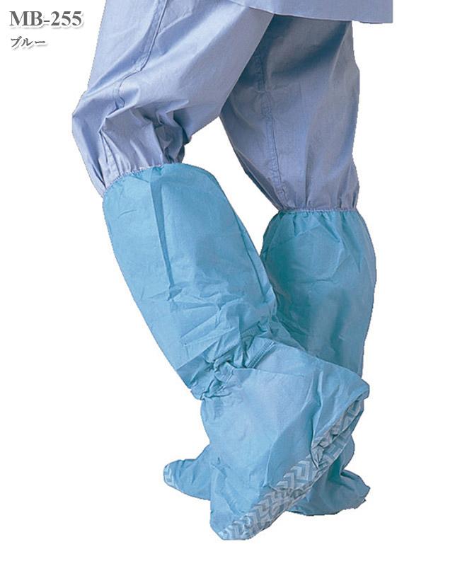シューズカバー(滑止、撥水、長靴タイプ)(100足入・返品不可商品)[ハイルバーティ製品] MB-255