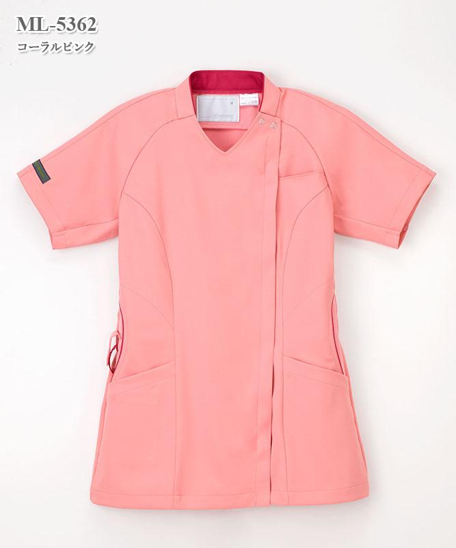 女子スクラブ半袖[ナガイレーベン製品] ML-5362