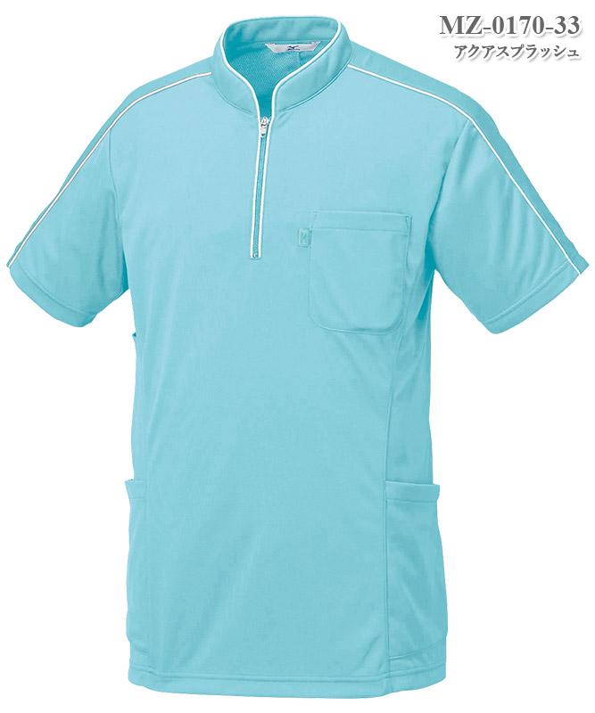 ミズノ男女兼用ニットシャツ半袖[チトセ製品] MZ-0170