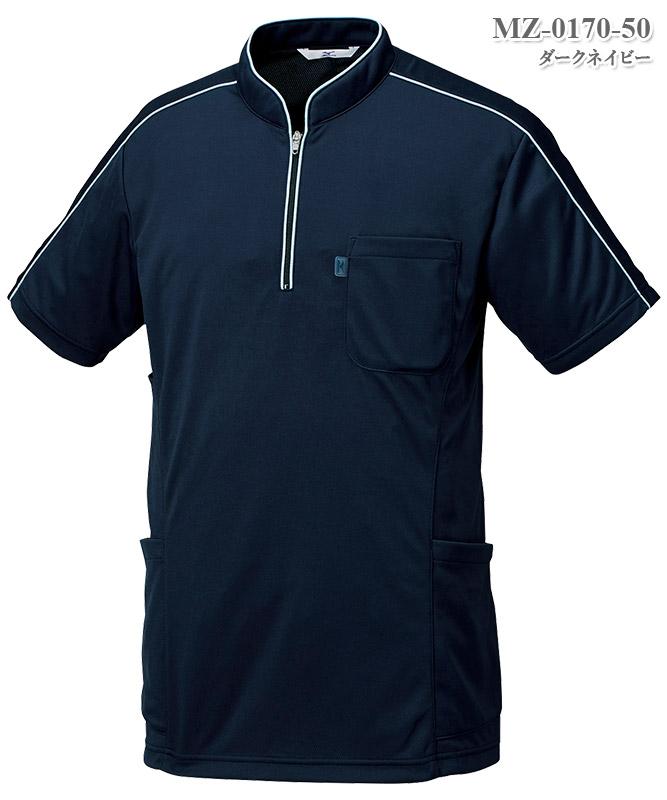 ミズノ男女兼用ニットシャツ[チトセ製品] MZ-0170
