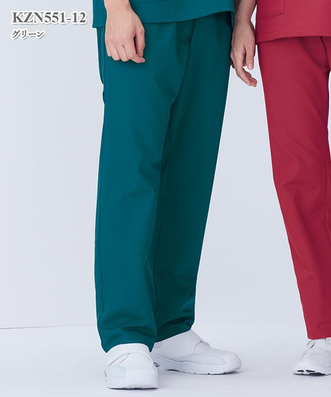 男女兼用手術スラックス[KAZEN製品] KZN551