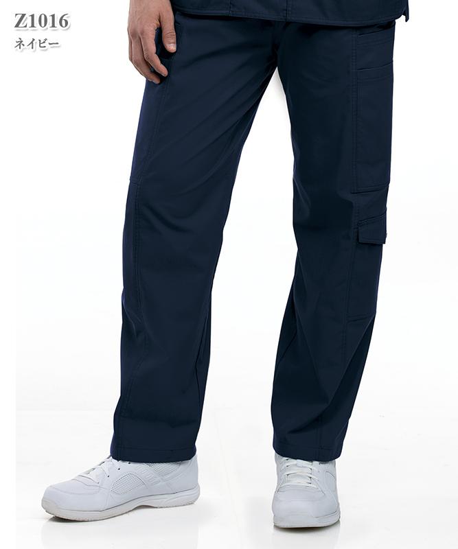 男女兼用スクラブ7ポケットカーゴパンツ(股下71cm)[スマートスクラブス製品] Z1016