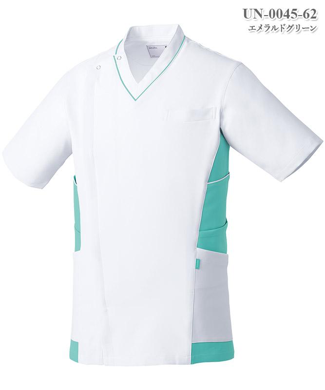 メンズケーシージャケット半袖[チトセ製品] UN-0045