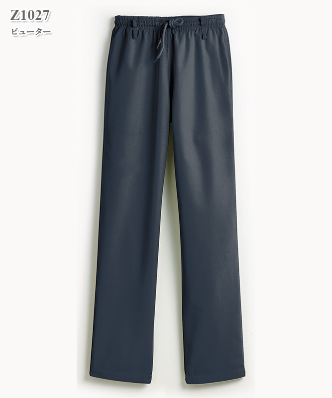 男女兼用スクラブクラシックパンツ(股下71cm)[スマートスクラブス製品] Z1027