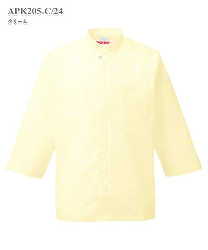シャツコート七分袖[KAZEN製品] APK205