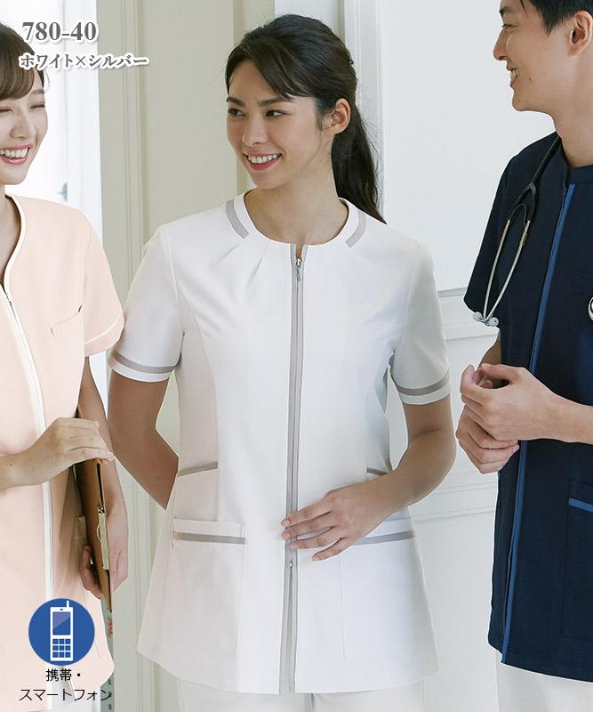 レディスジャケット半袖[KAZEN製品] 780