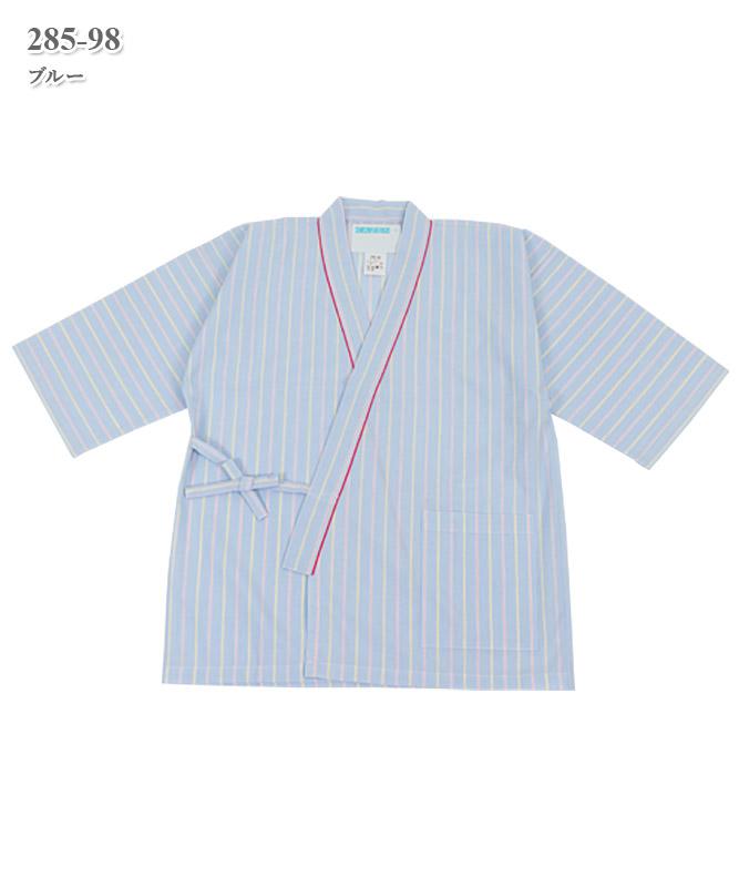 患者衣甚平型上衣[KAZEN製品] 285-98