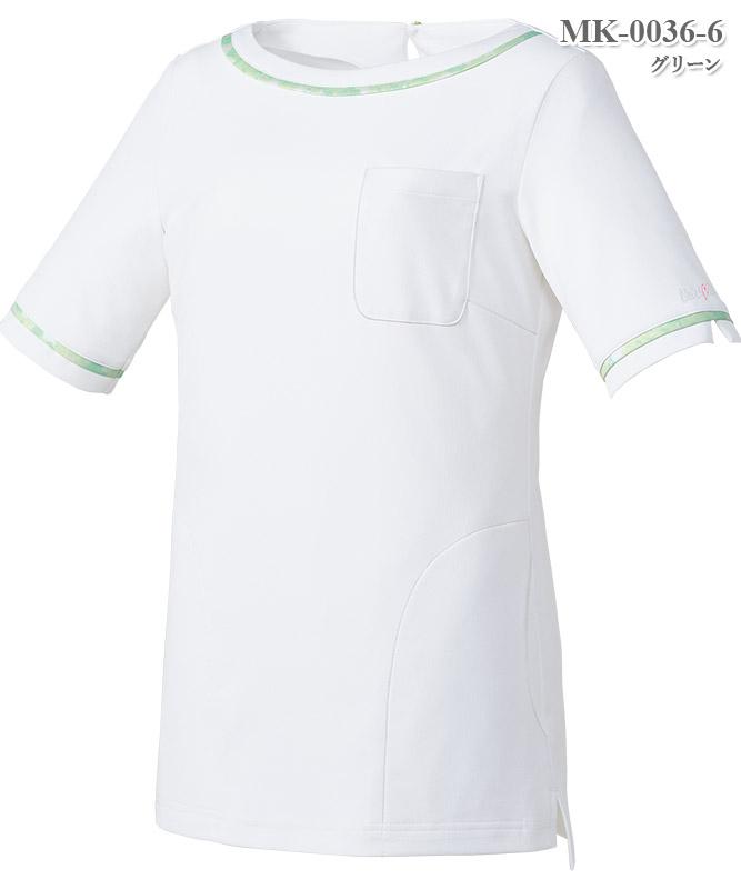 ミッシェルクランレディスカットソー半袖[チトセ製品] MK-0036