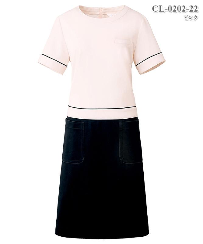 ワンピース半袖[チトセ製品] CL-0202