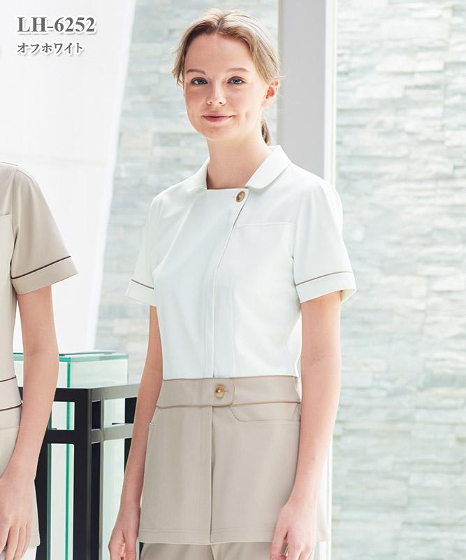 女子チュニック半袖[ナガイレーベン製品] LH-6252