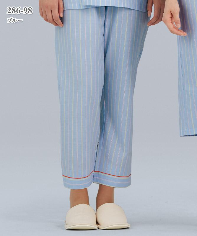 患者衣スラックス[KAZEN製品] 286-98
