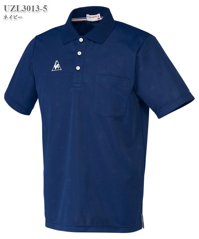ルコックスポルティフ男女兼用ポロシャツ半袖[lecoq製品] UZL3013