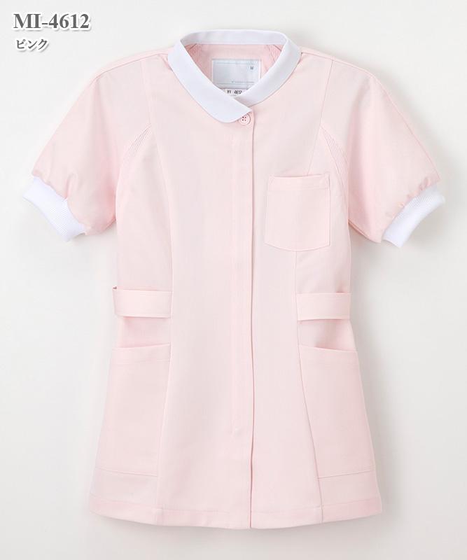 ミレリア女子チュニック半袖[ナガイレーベン製品] MI-4612