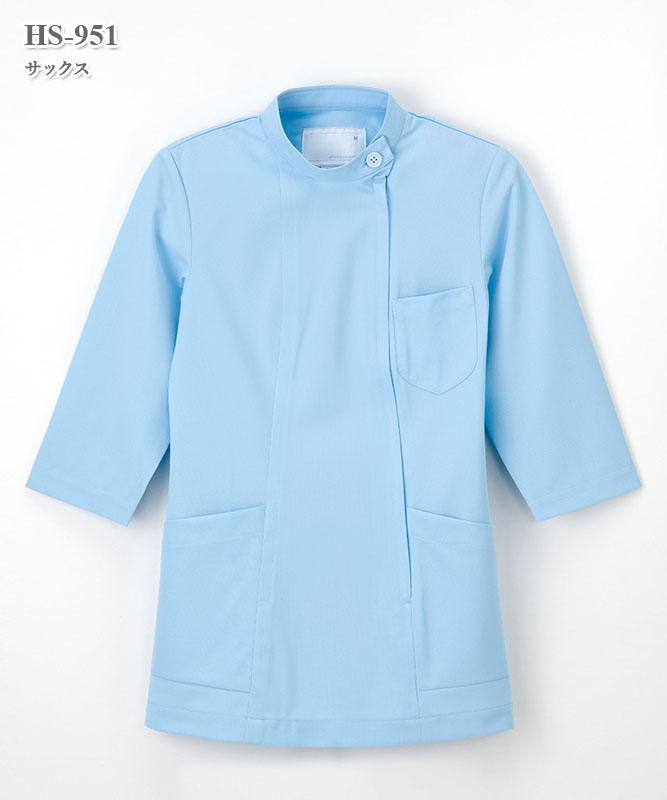 ホスパースタット女子チュニック七分袖[ナガイレーベン製品] HS-951