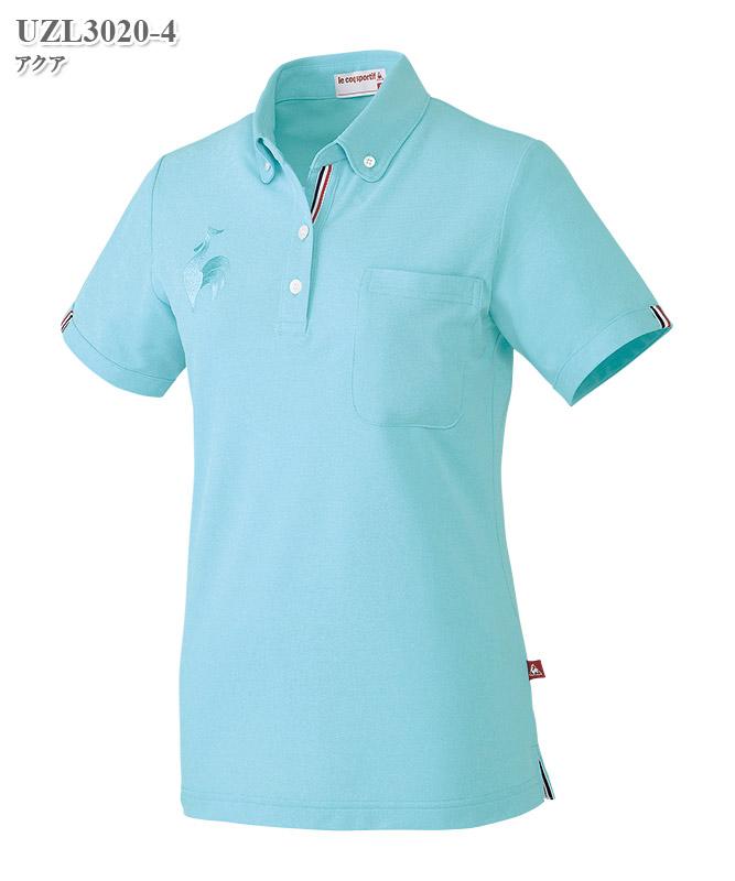 ルコックスポルティフレディスボタンダウンシャツ半袖[lecoq製品] UZL3020