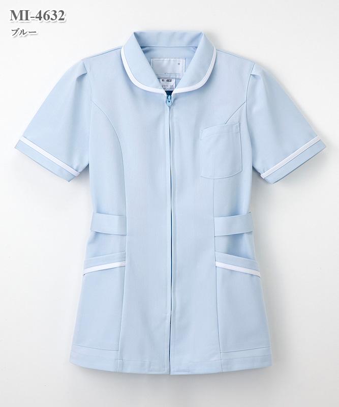 ミレリア女子チュニック半袖[ナガイレーベン製品] MI-4632