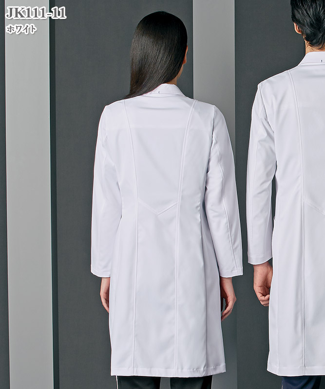 JUNKO KOSHINO(ジュンコ コシノ)レディスドクターコート長袖[住商モンブラン製品] JK111