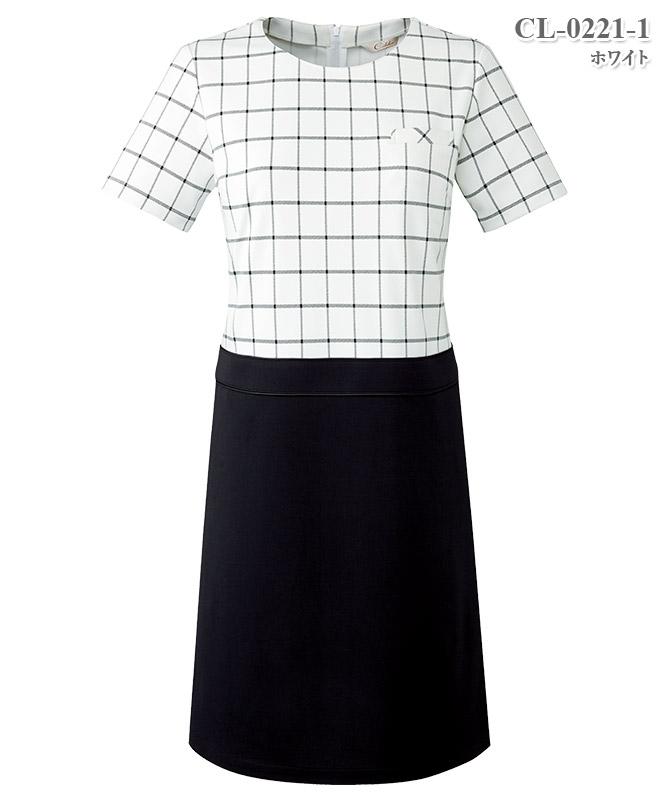 ワンピース半袖[チトセ製品] CL-0221