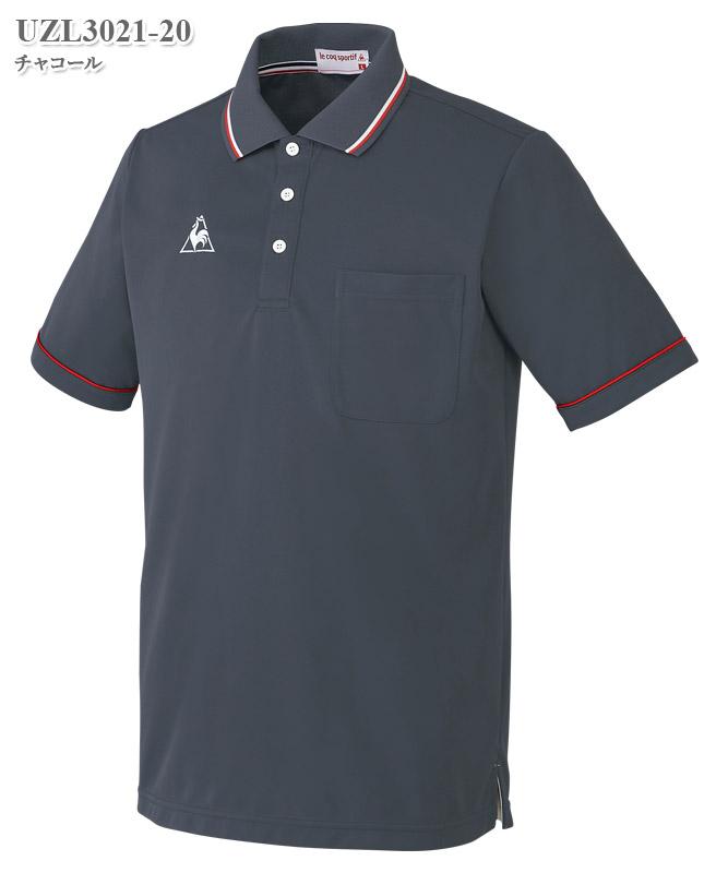 ルコックスポルティフ男女兼用ポロシャツ半袖[lecoq製品] UZL3021