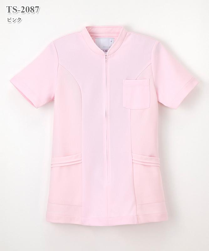 女子チュニック半袖[ナガイレーベン製品] TS-2087