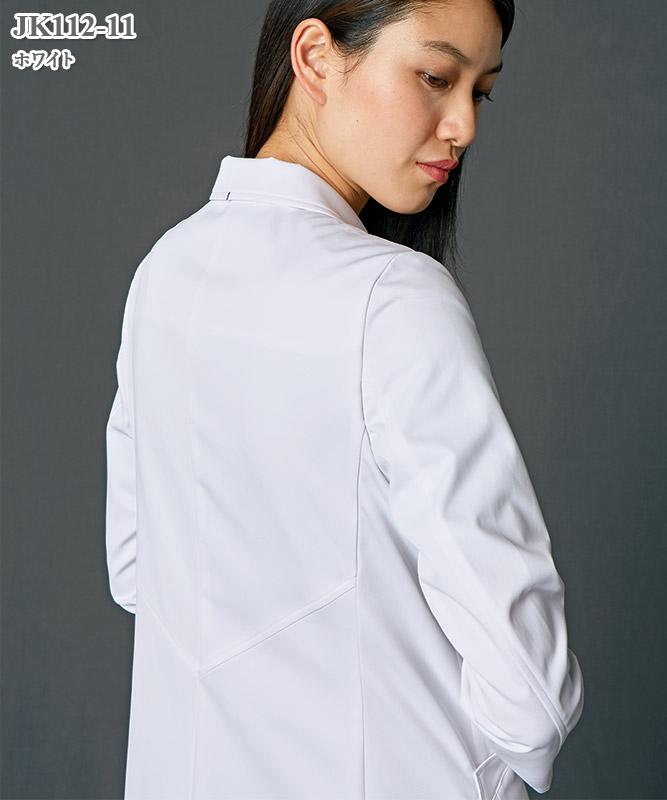 JUNKO KOSHINO(ジュンコ コシノ)レディスドクターコート長袖[住商モンブラン製品] JK112