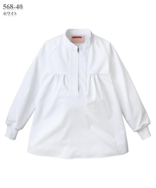 マタニティ用ジャンパー長袖[KAZEN製品] 568-40